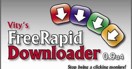 FreeRapid 0.9u4 免費空間下載器,軟體下載與教學 - 逍遙の窩