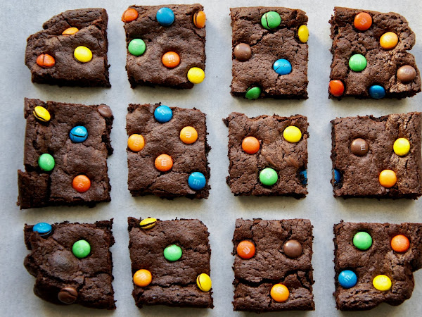 REZEPT: glutenfreie M&M Brownies