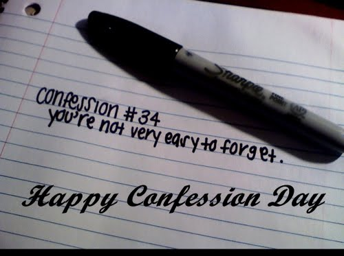 Confession Day Wishes Confession Day Wishes, Messages, SMS, Greetings, Images, Pictures