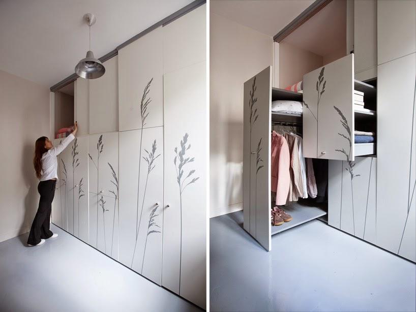 Tiny 8 Sqm Parisian Apartment With Hidden Amenities Spicytec