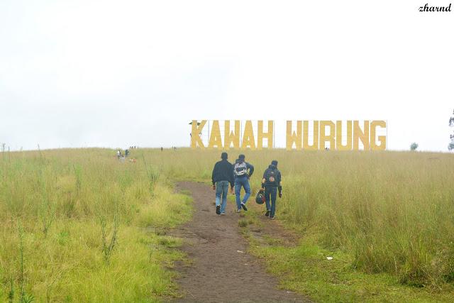 Objek Wisata Kawah Wurung Bondowoso