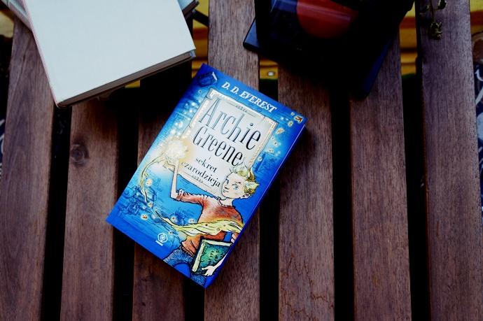 Archie Greene- świat magii zaklęty w książkach