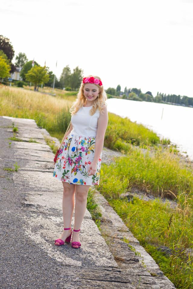 Sommerkleidchen und ein bisschen Kitsch