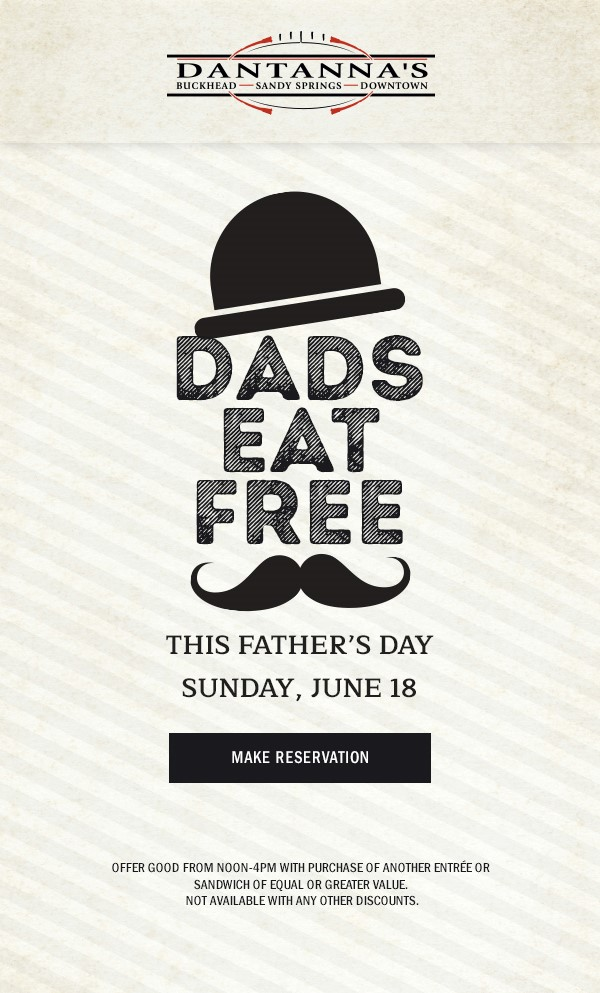 Where to Celebrate Dad on Father's Day in Atlanta  via  www.productreviewmom.com