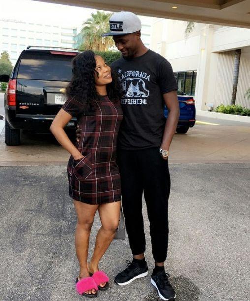 Adeniyi Johnson and His New Love Seyi Edun In New Pic