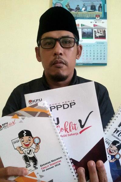 Selain Coklit, KPU Pariaman Imbau PPDP Juga Sosialisasikan Pilkada