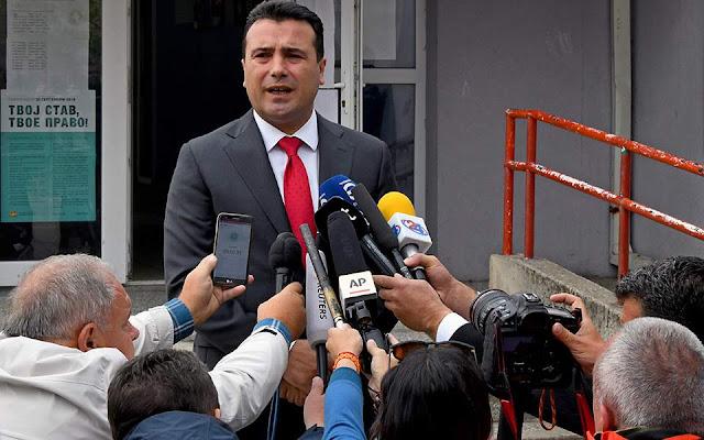 Ζάεφ: Ο Τσίπρας με διαβεβαίωσε ότι παραμένει αφοσιωμένος στη συμφωνία των Πρεσπών