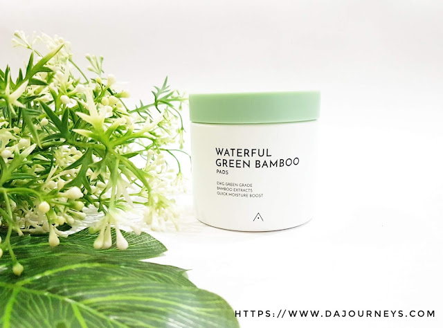 Review Althea Waterful Green Bamboo Pads