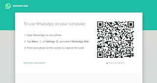 Cara Mengatasi Loading Pada Barcode WhatsApp Web Gambar 6