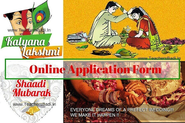 Kalyana Lakshmi,Shadi Mubark scheme,Online application form