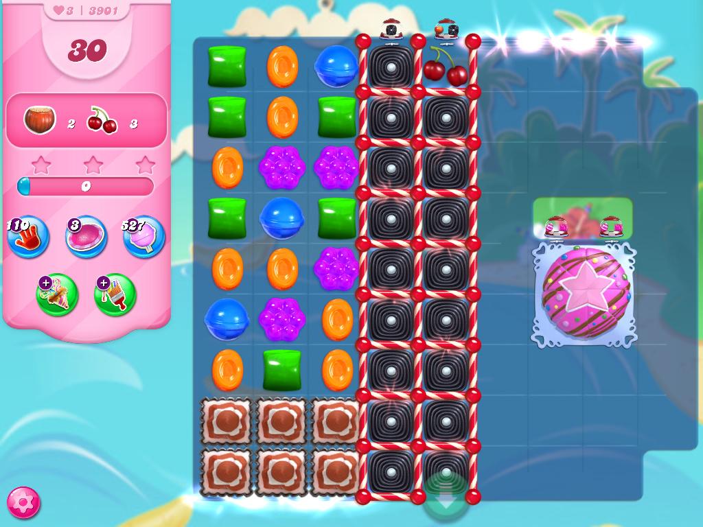 Candy Crush Saga level 3891