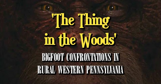 'The Thing in the Woods' - Bigfoot Confrontations in Rural Western Pennsylvania