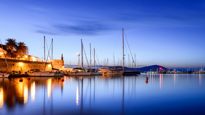 Wallpaper: Travel at Alghero Harbour, Sardinia, Italy