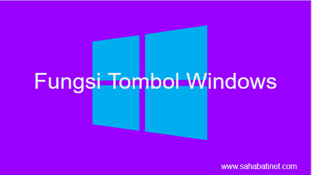 kegunaan tombol windows di keyboard