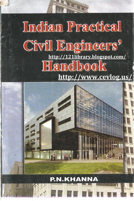 Indian Practical Civil Engineers Handbook Free Pdf Book