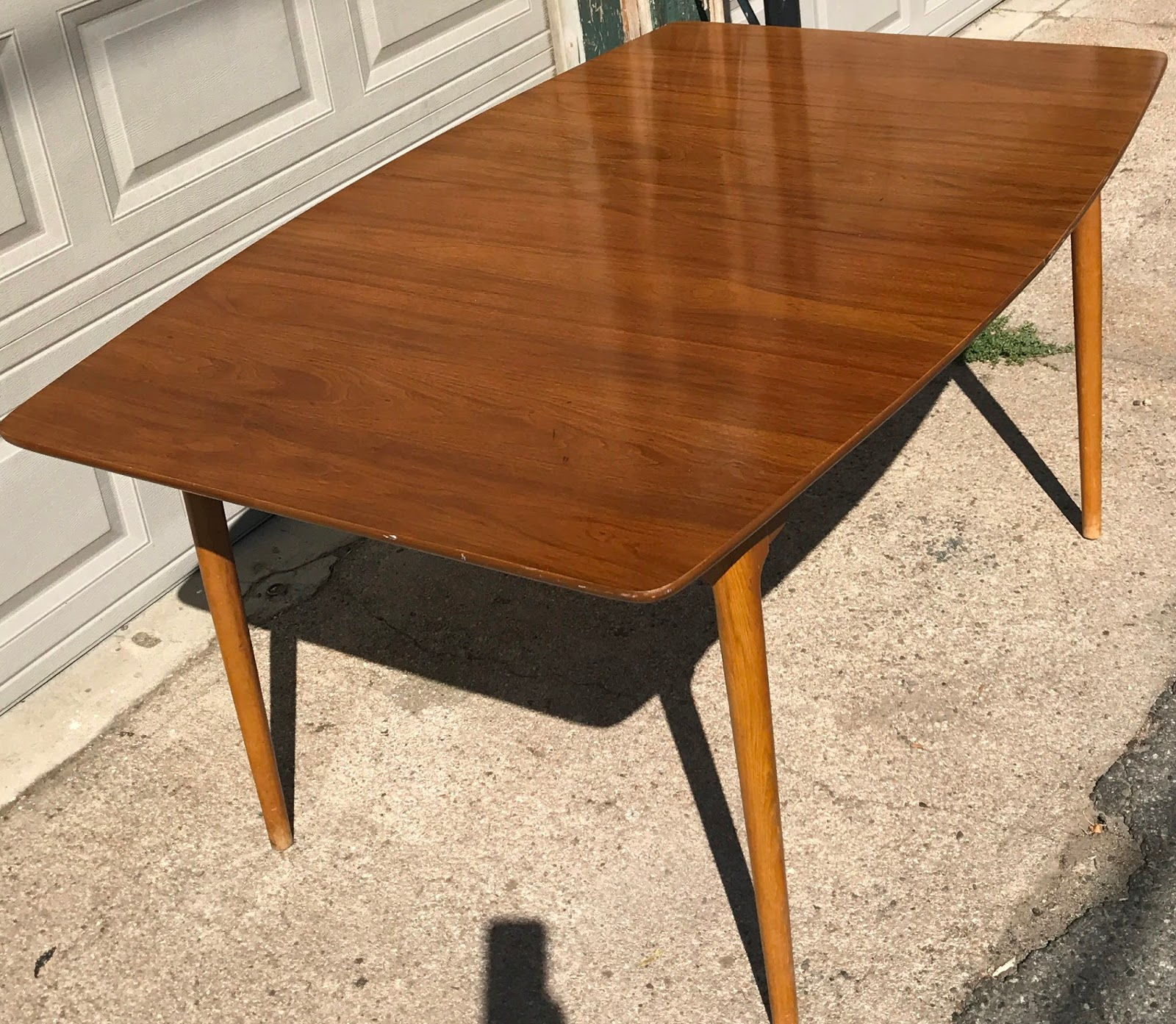New Mid Century Surboard Dining Table SOLD