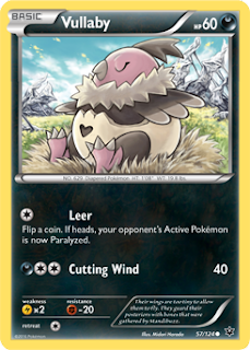 Vullaby Fates Collide Pokemon Card