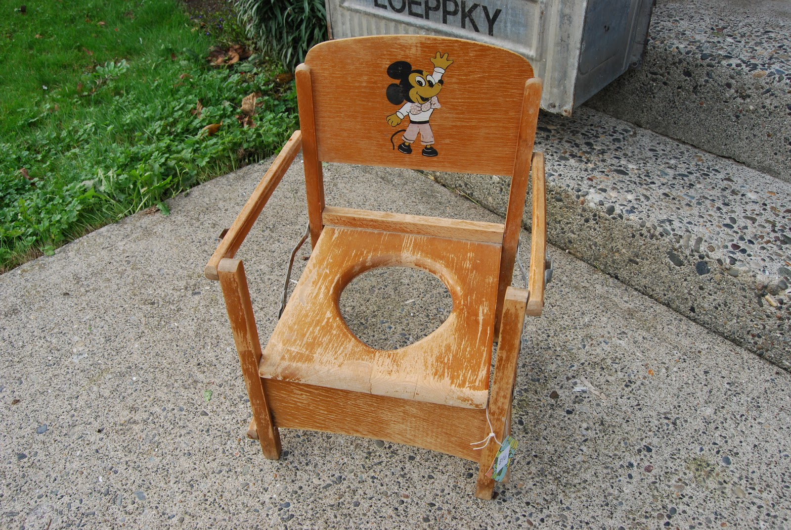 Best Potty Chair Small Round Cushions Lucky And Lou 39s Second Hand News Folding Wooden