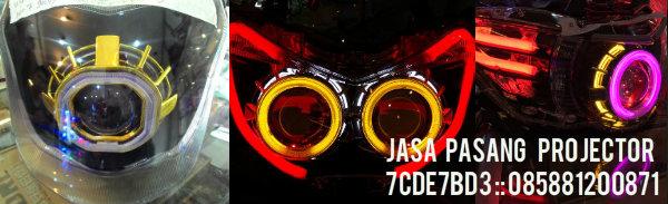 Jasa Pasang Projector Motor Bekasi dan Jakarta