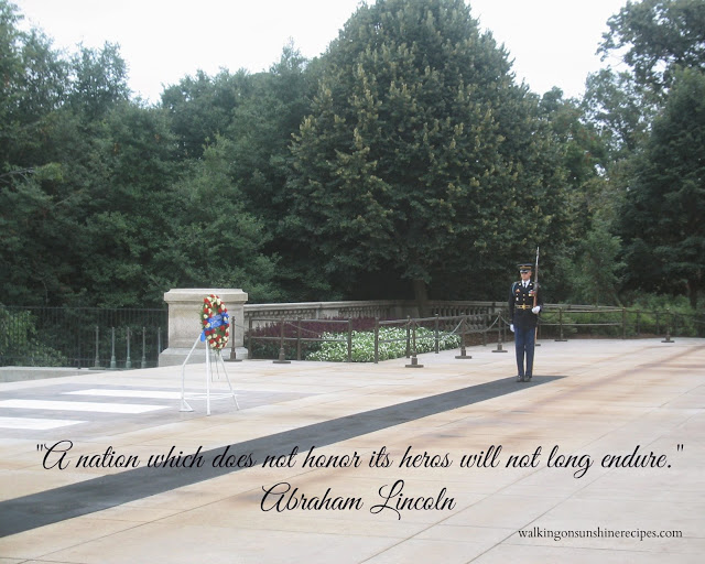Remembering why we celebrate Memorial Day from Walking on Sunshine Recipes.