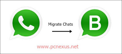 migrate whatsapp chats to whatsapp business