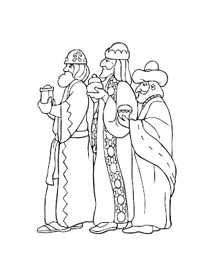 3 Kings Day or Epiphany Coloring Pages : Let's Celebrate!