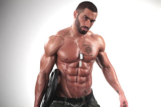 Lazar Angelov most ripped abs
