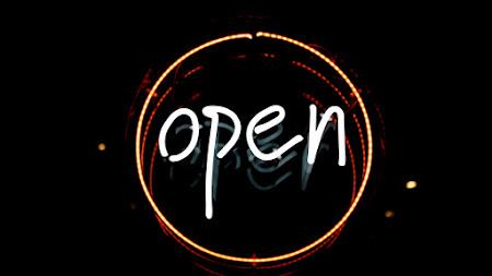 Open Logo in Light iPad