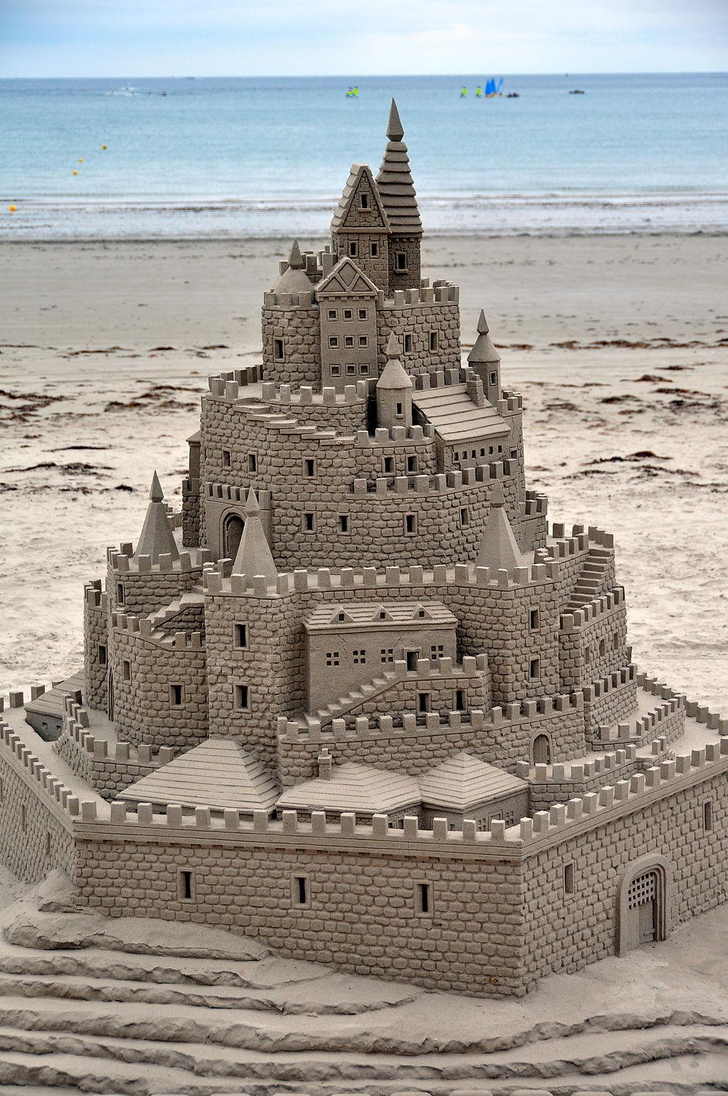 The Speculative Salon: Fantasy Sand Castle Art