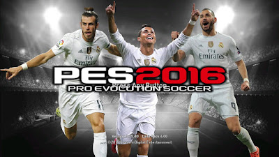 PES 2016 MSN VS BBC Startscreen by ZeroPES