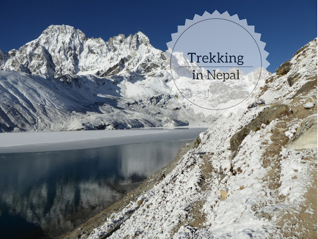 Come organizzare un trekking in Nepal panorama sul Gokyo lake