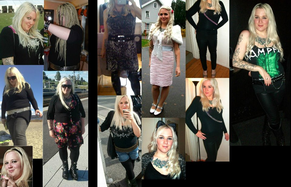 Dieting: Amys weightloss in pictures