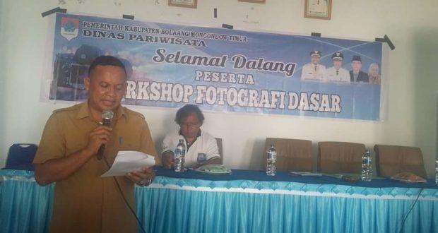 Dispar Gelar Workshop Teknik Fotografi Kepada Wartawan Dan PNS Boltim