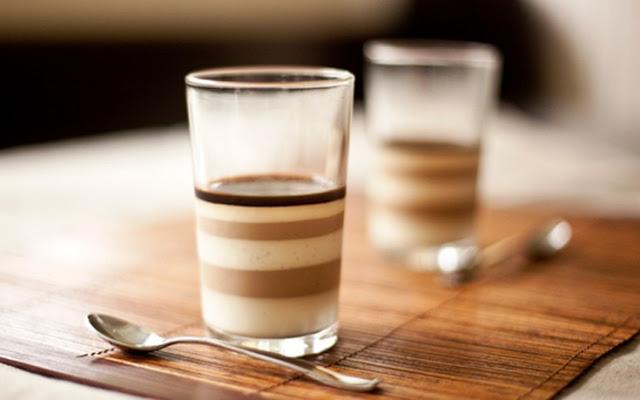 Πανακότα με καφέ