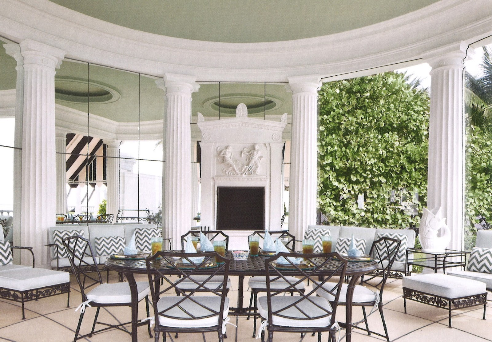 Artemis Interieur Architect Design Palm Beach Chic The Villa Artemis