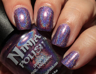 Ninja Polish Infinity Gems Space Swatches Review