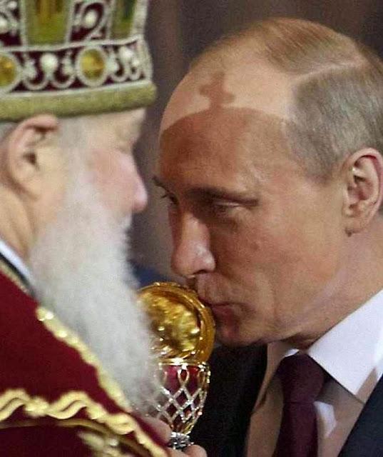 O Patriarca Kirill de Moscou, almejaria crime semelhante contra os greco-católicos. Mas desta vez ao serviço de Putin, e não de Stalin, arguindo ecumenismo!