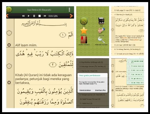 Alquran Bahasa Indonesia, Salah Satu Aplikasi Alquran Android Terbaik dan Gratis