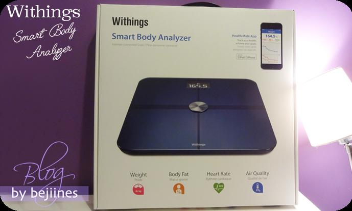 SmartBody Analyzer - La Balance connectée Withings