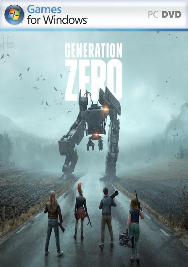 Generation Zero PC Cover