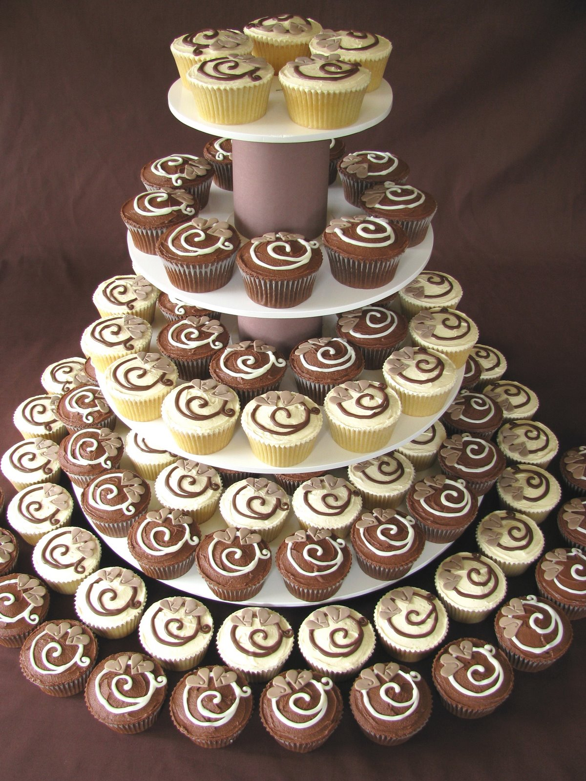 Chocolate Wedding Cupcakes Recipes