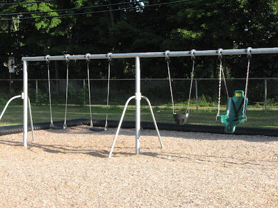 Morse Pond Playground Swings