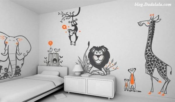 Contoh Wallpaper Kamar Anak