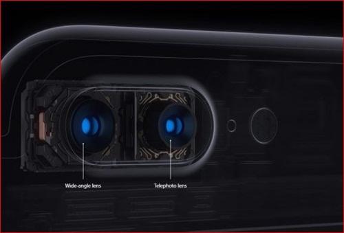 fitur kamera iPhone 7 plus
