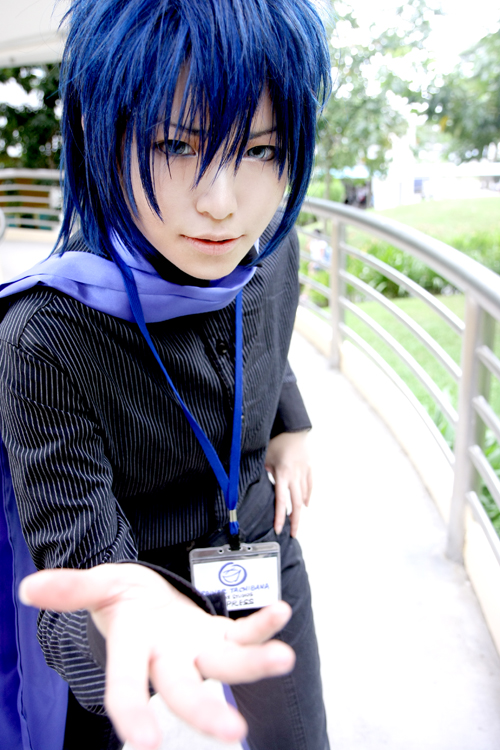 Vocaloid Shion kaito cosplayVocaloid Kaito Cosplay