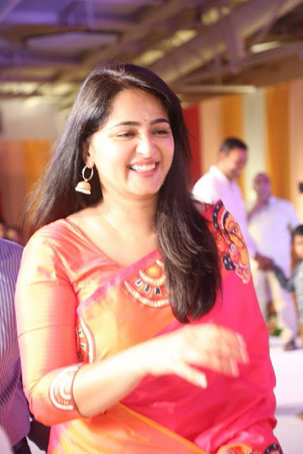 Anushka Shetty at Shyam Prasad Reddy's daughter's wedding