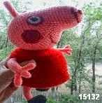 patron gratis cerda peppa pigamigurumi, free amigurumi pattern pig peppa pig