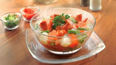 Resep Cara Membuat Sup Sayuran Komplit