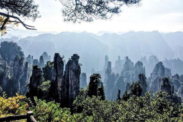 Taman Nasional Zhangjiajie