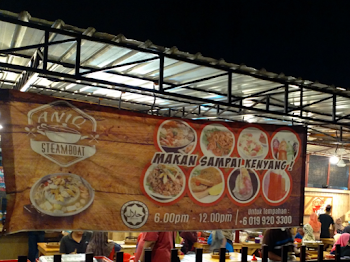 Makan Sampai Kenyang di Aniq Steamboat Kuantan dengan Hanya RM 19.00 Sahaja